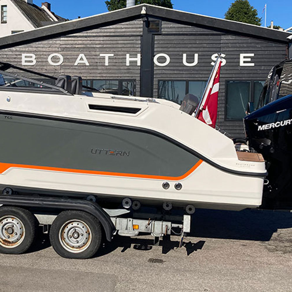 Boathouse Sletten - Showroom salg af nye og brugte både