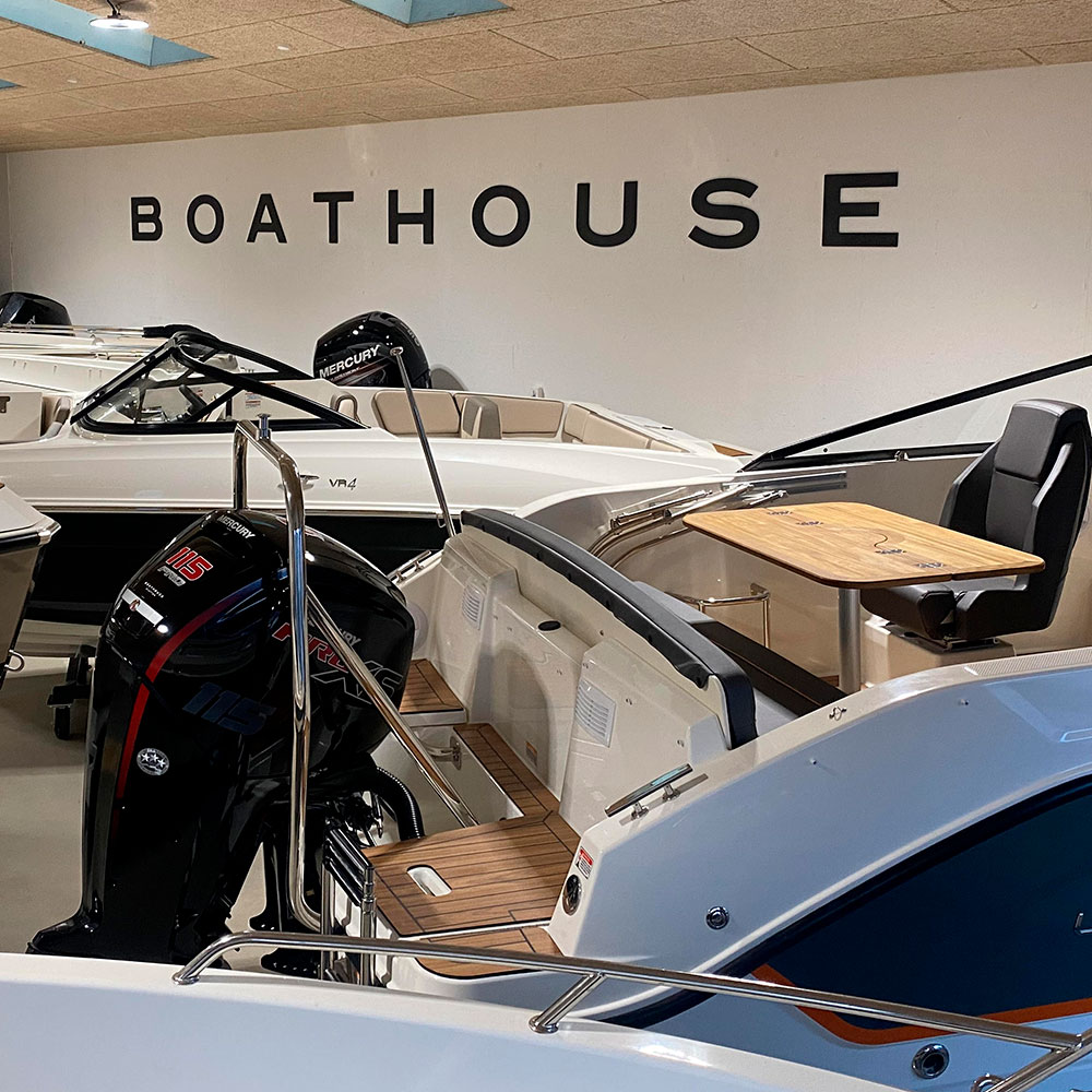 Boathouse Sletten - Både til salg